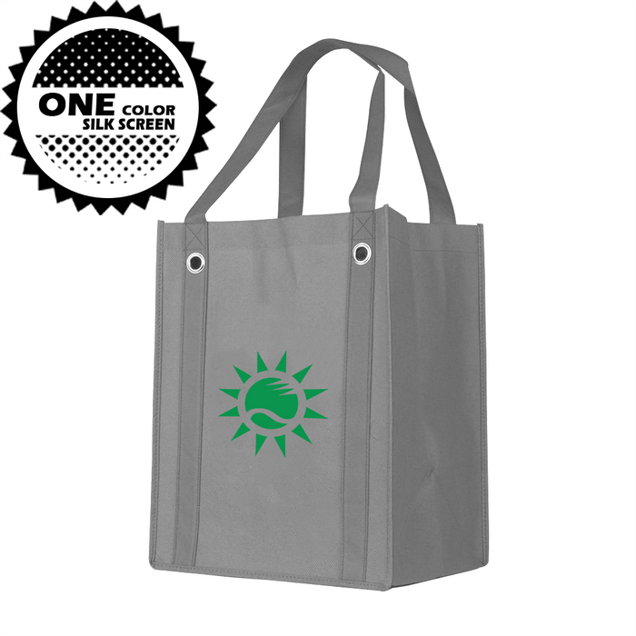 Grommet Reinforced Handle Bag *Fully Customizable* Bag Ban Approved,[wholesale],[Simply+Green Solutions]