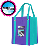 Grommet Reinforced Handle Bag *Fully Customizable* Bag Ban Approved