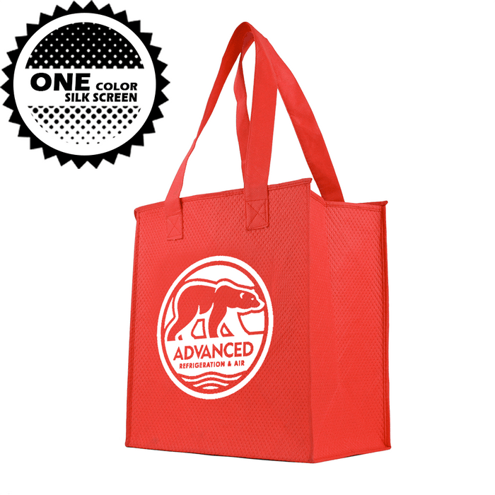 Insulated Grocery Tote *Fully Customizable* Bag Ban Approved,[wholesale],[Simply+Green Solutions]