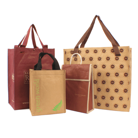 Woven Polypropylene Kraft Paper Laminated Bag *Fully Customizable* (Pack of 3000)