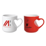 12 oz Lover's Mug (Red/White)