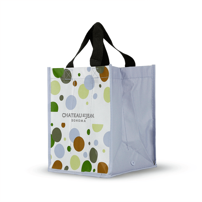 Foldable Non Woven Polypropylene CMYK Laminated Wine Tote *Fully Customizable*,[wholesale],[Simply+Green Solutions]