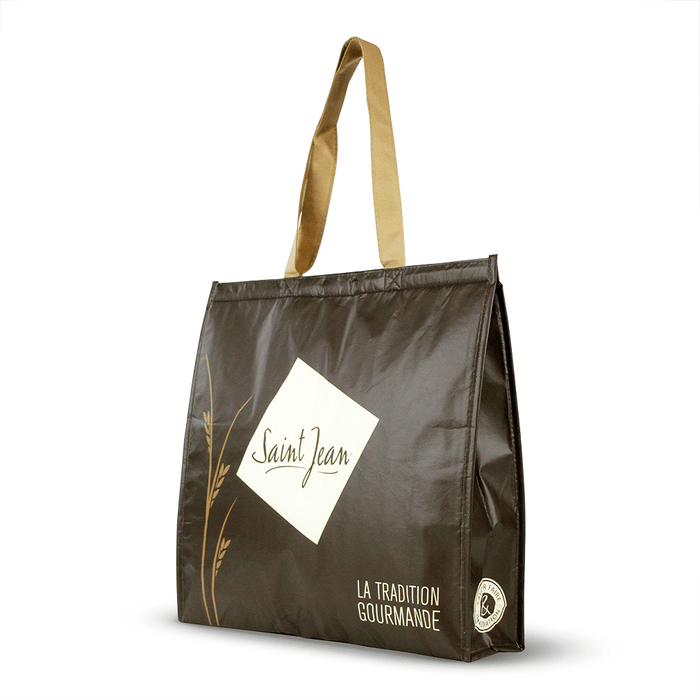 Non Woven Polypropylene Laminated insulated tote *Fully Customizable* Bag Ban Approved,[wholesale],[Simply+Green Solutions]
