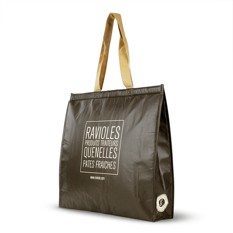 Non Woven Polypropylene Laminated insulated tote *Fully Customizable* Bag Ban Approved (Pack of 3000)