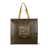 Non Woven Polypropylene Laminated insulated tote *Fully Customizable* Bag Ban Approved