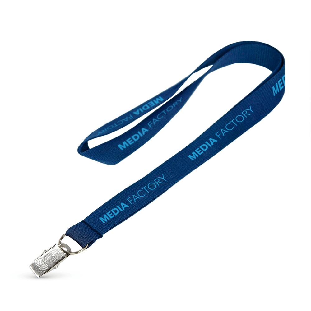 "3/4"" Polyester Flat Lanyard - ,[wholesale],[Simply+Green Solutions]"