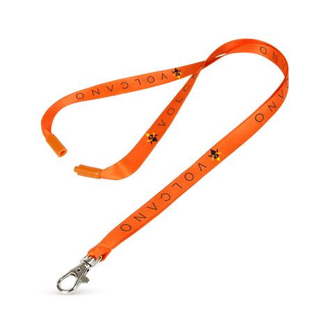 "1/2"" Digitally Sublimated Lanyard w/Deluxe Lobster Claw and a Breakaway"
