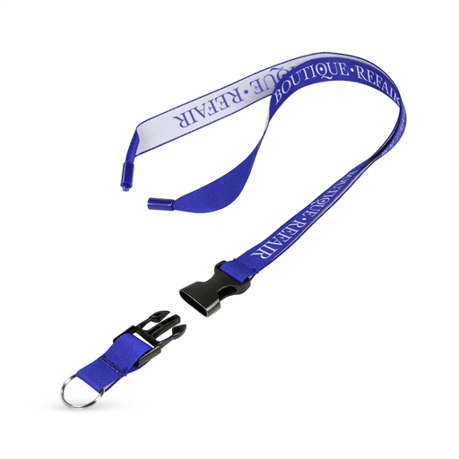 "3/4"" Detailed Coarse Weave Lanyard w/Detachable Buckle and a Breakaway - ,[wholesale],[Simply+Green Solutions]"
