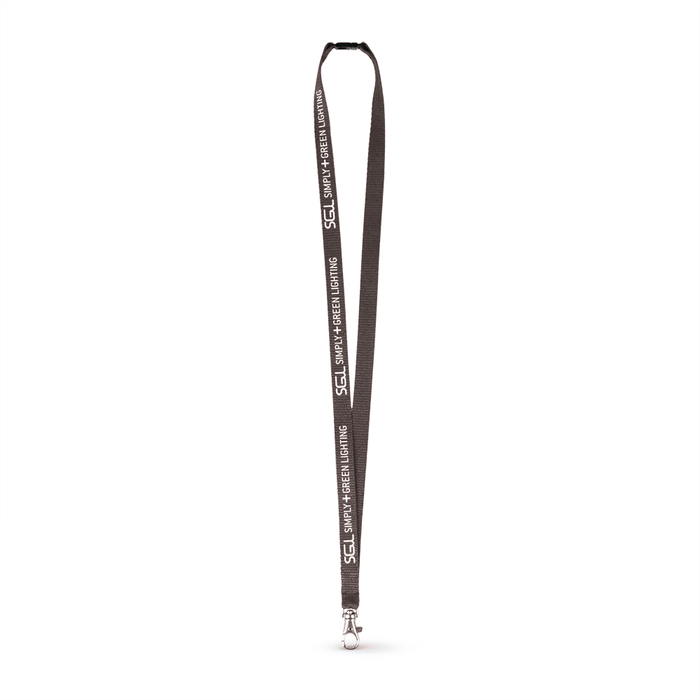 "1/2"" Silkscreened Flat Lanyard w/Sew on Breakaway,[wholesale],[Simply+Green Solutions]"