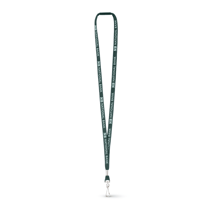 "3/8"" Tubular Polyester Lanyard w/J Hook and a Breakaway - ,[wholesale],[Simply+Green Solutions]"