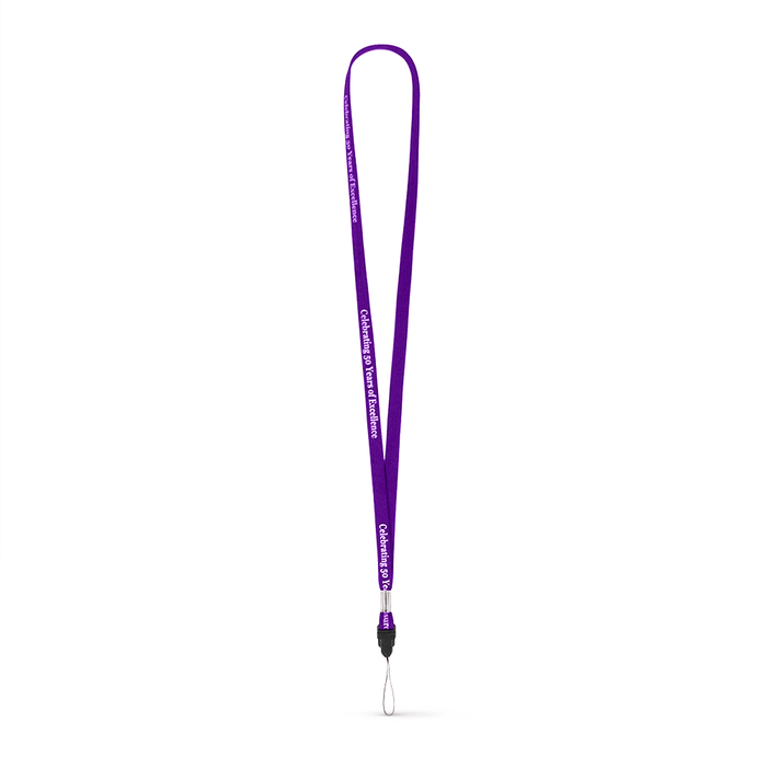 "3/8"" Tubular Polyester Lanyard w/Detachable Tip - ,[wholesale],[Simply+Green Solutions]"