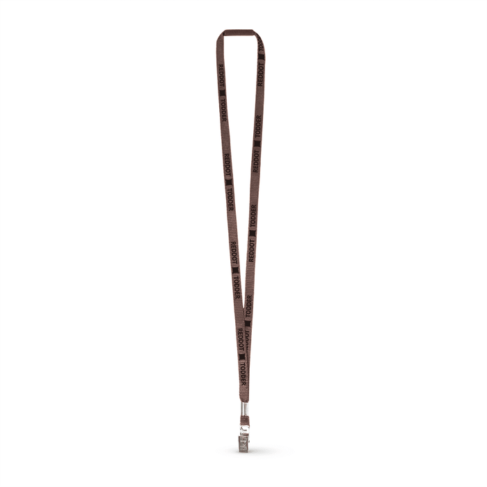 "3/8"" Flat Polyester Lanyard w/Bulldog Clip and a Breakaway - ,[wholesale],[Simply+Green Solutions]"
