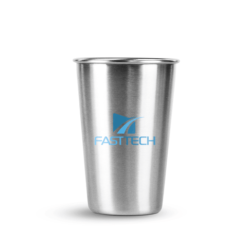 16 oz Stainless Steel Economy Pint *Stocked in the USA*