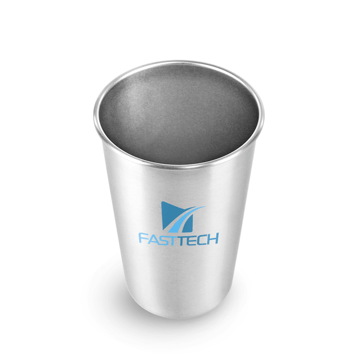 16 oz Stainless Steel Economy Pint *Stocked in the USA* (Pack of 48),[wholesale],[Simply+Green Solutions]