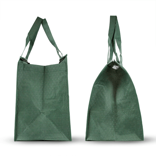 Blank Insulated Zippered Reinforced Shopping Bag *Stocked in the USA*,[wholesale],[Simply+Green Solutions]