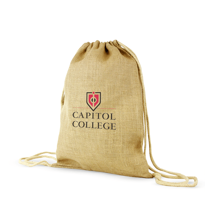 Jute / Burlap Drawstring Bag,[wholesale],[Simply+Green Solutions]