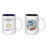 15 oz El Grande photo mugs (White outside/ color inside)