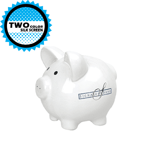 Ceramic Piggy Banks (Small) (Pack of 24),[wholesale],[Simply+Green Solutions]