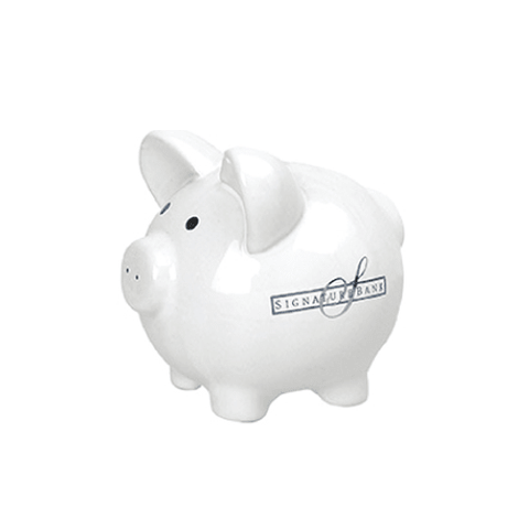 Ceramic Piggy Banks (Small) (Pack of 24)