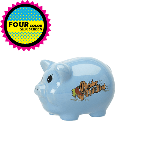 Ceramic Piggy Banks (medium) (Pack of 24),[wholesale],[Simply+Green Solutions]