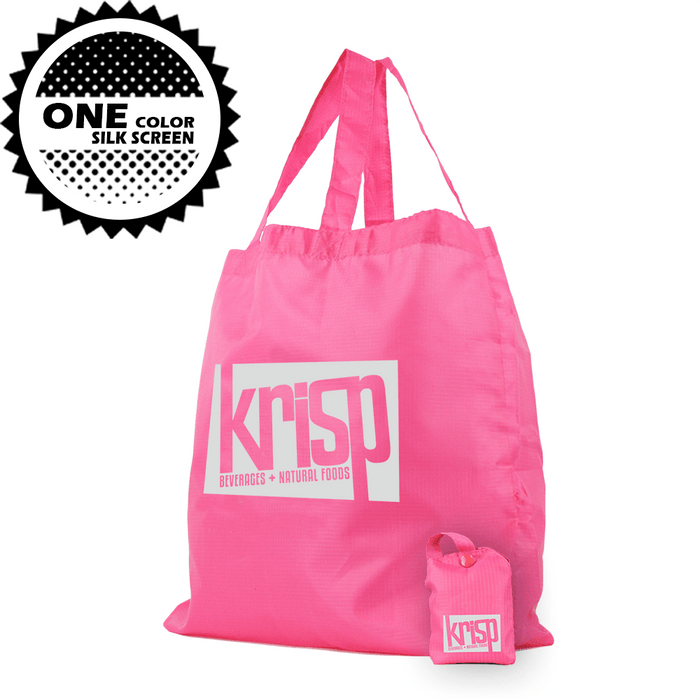 Polyester Compact Button Tote Detached *Fully Customizable* Bag Ban Approved,[wholesale],[Simply+Green Solutions]