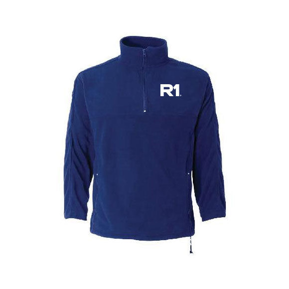 R1 Embroidered FeatherLite - Microfleece Unisex Quarter-Zip Pullover