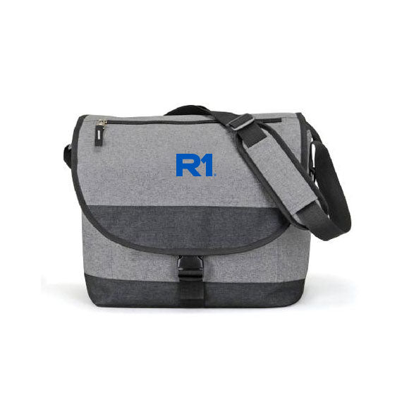 R1 Heathered Messenger Bag