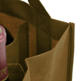 Two bottle Wine Tote, Reinforced Handles *Fully Customizable*