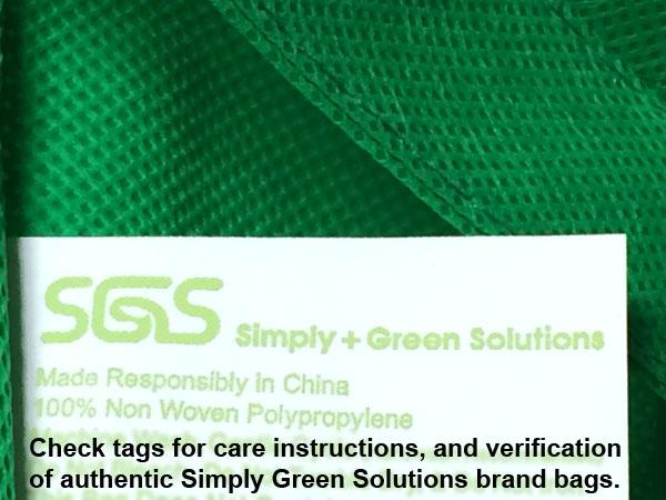 Reinforced Handle Tote *Stocked in the USA*,[wholesale],[Simply+Green Solutions]