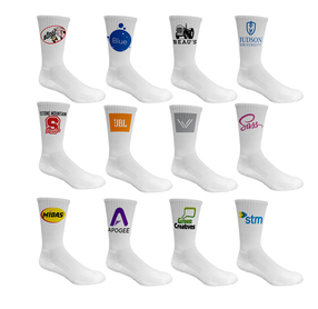 Side Imprint Crew Socks