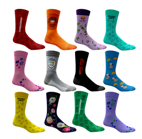Full Color Dress Socks