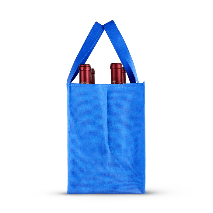 Six bottle Non-woven Wine Tote *Fully Customizable*,[wholesale],[Simply+Green Solutions]