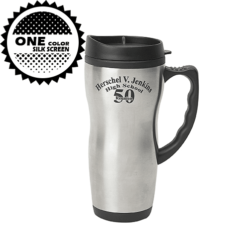 16 oz Travel Mug W/Plastic Liner,[wholesale],[Simply+Green Solutions]