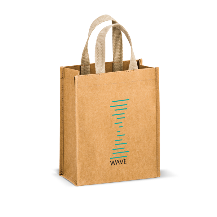 Washable Kraft Paper Tote Bag - Cyclone,[wholesale],[Simply+Green Solutions]