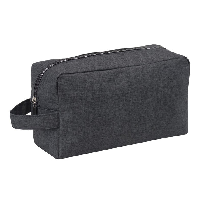 Heathered Two Zipper Toiletry Bag