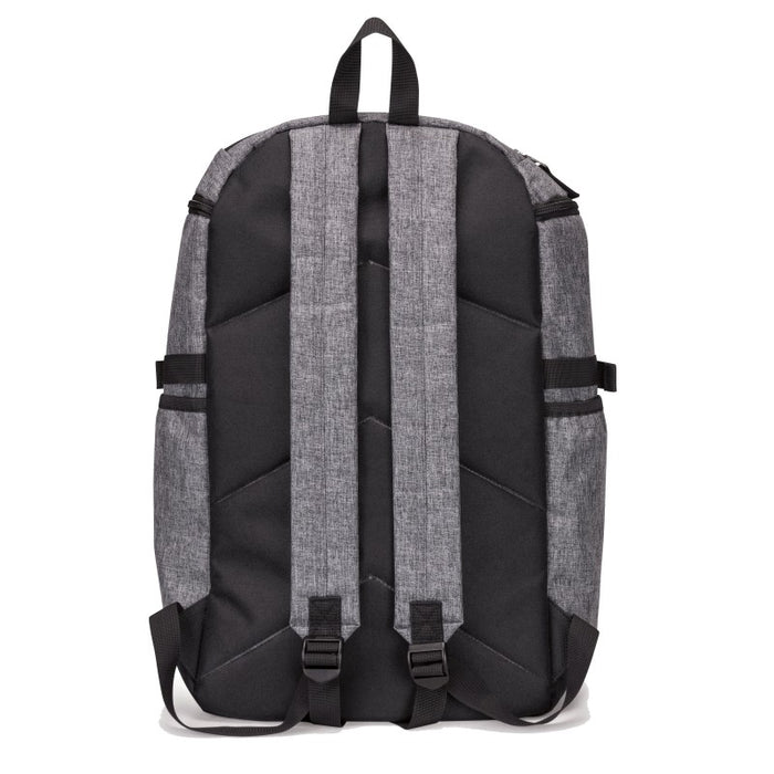 Heathered Computer Backpack w/ Padded Back Panel