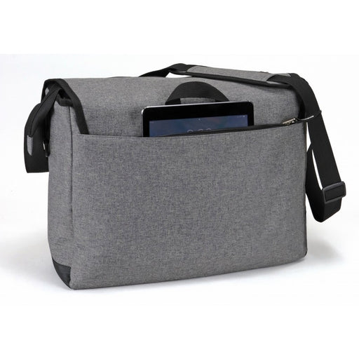 Heathered Messenger Bag