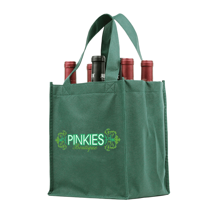 Six bottle Wine Tote, Double Layered Premium Plus *Fully Customizable*,[wholesale],[Simply+Green Solutions]