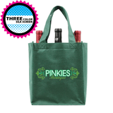 Six bottle Wine Tote, Double Layered Premium Plus  *Fully Customizable*