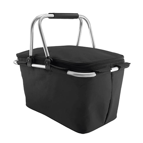 Blank Insulated Picnic Basket,[wholesale],[Simply+Green Solutions]