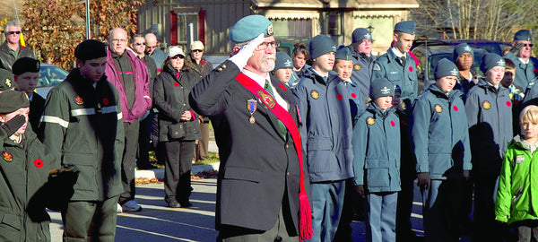 Remembrance Day in Wasaga Beach