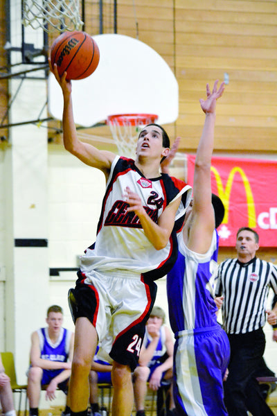 Collingwood BBall Tourney - Barrie Central Jeremy Parsons