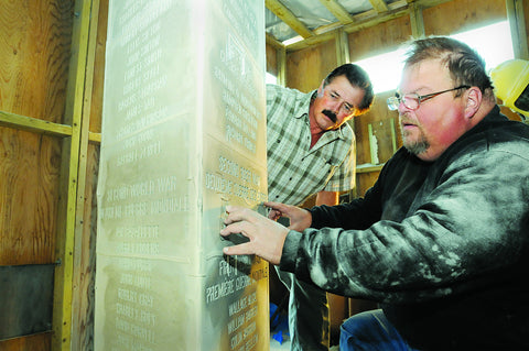 Royal Monument gets makeover in Barrie