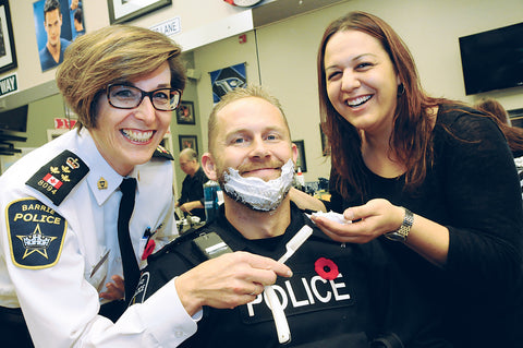 Barrie Police Movember 2013