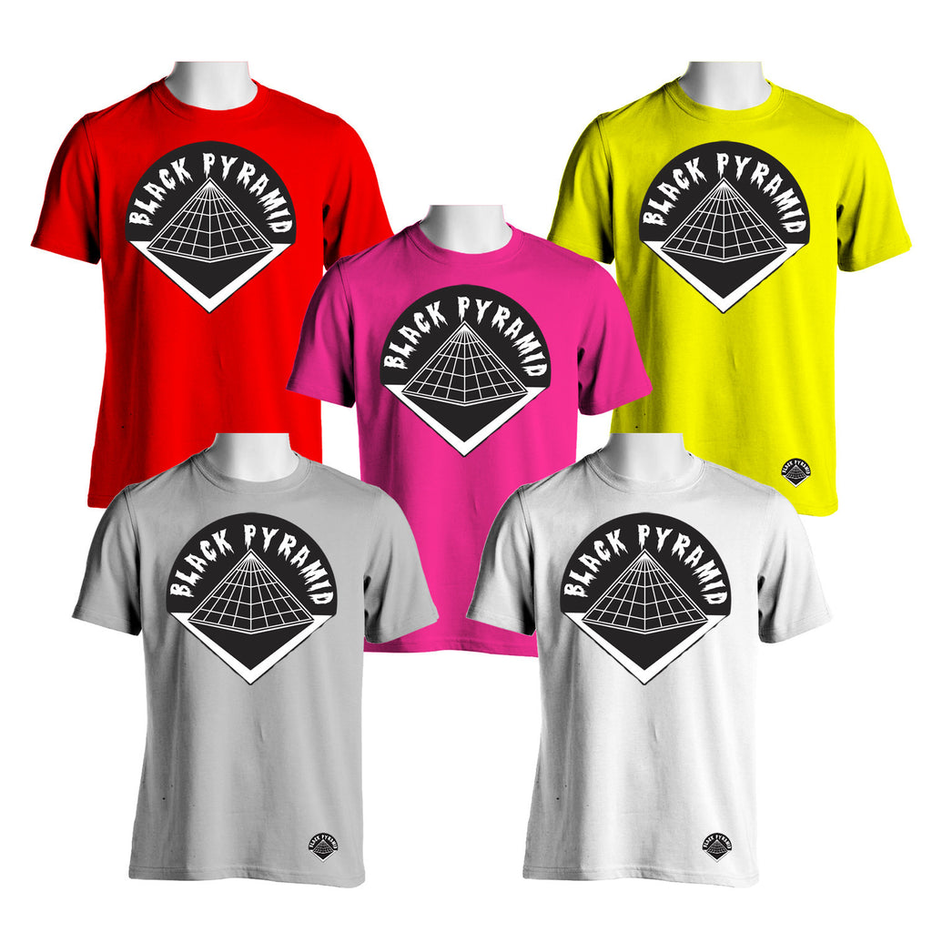 Black pyramid logo tees new mechanical dummy for Mechanical logos for t shirts