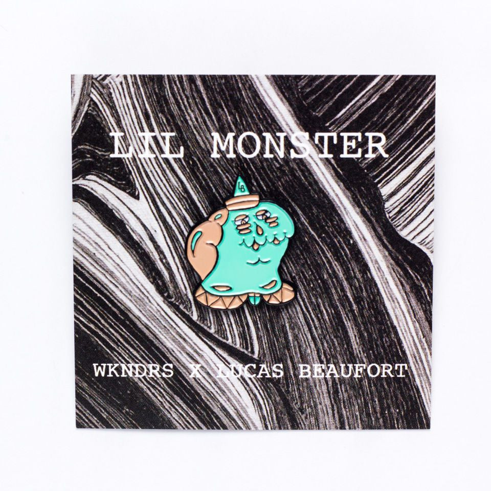 Lil Monster Enamel Pin