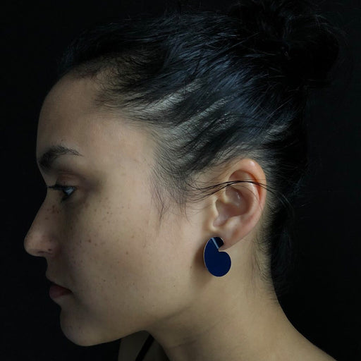 Papu Small Earring - Blue
