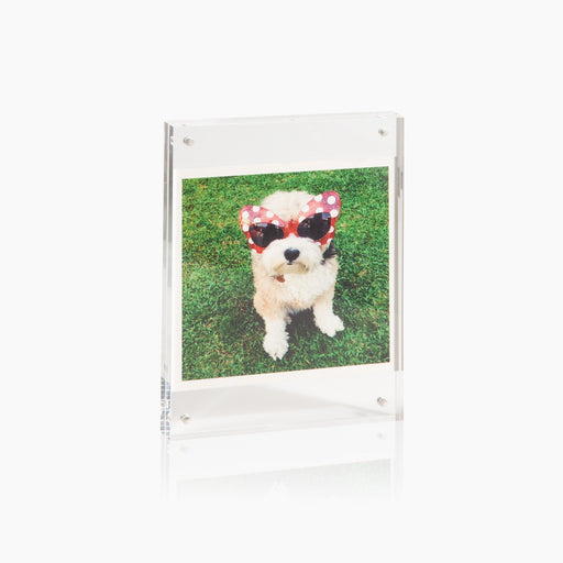 Poketo transparent Acrylic Photo Frames. Available at Easy Tiger Toronto.