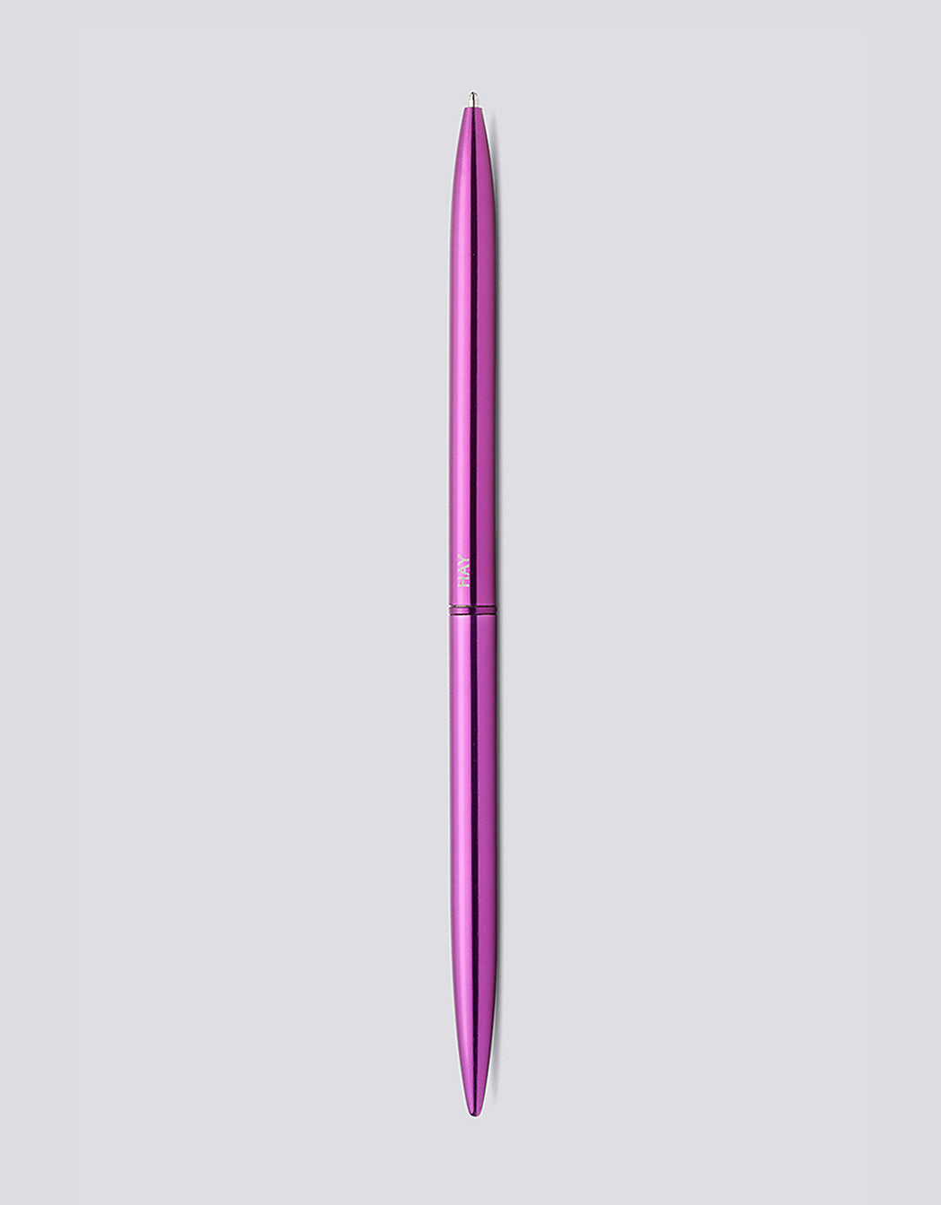 Metallic Purple Bullet Pen by HAY. Available at Easy Tiger Goods Toronto.