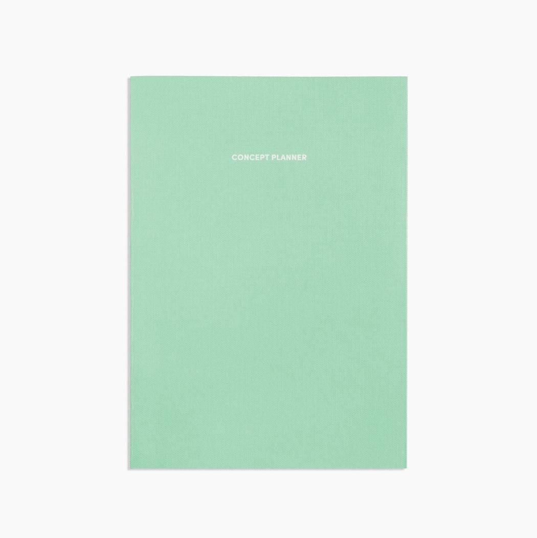 Poketo Concept Planner in Mint. Available at Easy Tiger Toronto.